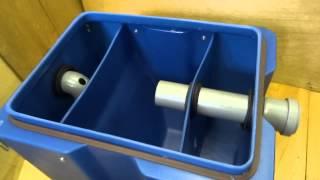 Смотреть видео как установить жироуловитель