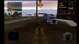 Speedrun: ATV Offroad Fury-Yardley Station (Short Race) (5 Lap Race) (Fastest Lap) [WR] [3m 45.86s]