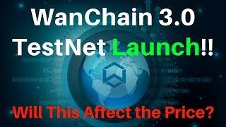 Launch of Wanchain 3.0 Alpha Testnet! Cross-Chain TX With Bitcoin! WAN Explained!