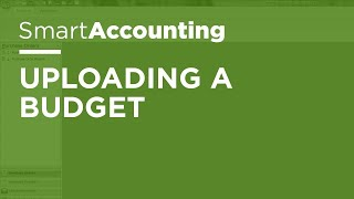 SmartAccounting - Uploading a Budget