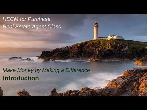Real Estate Agent Reverse Purchase Class - Introduction