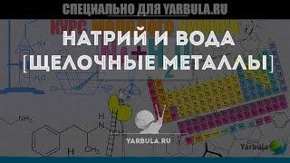 Натрий и вода [ЩЕЛОЧНЫЕ МЕТАЛЛЫ] — уроки Химии от Ярбулы
