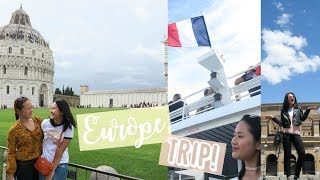 Travelling 5 different cities in Europe! (Toulon, Florence/Pisa, Rome & Vatican)