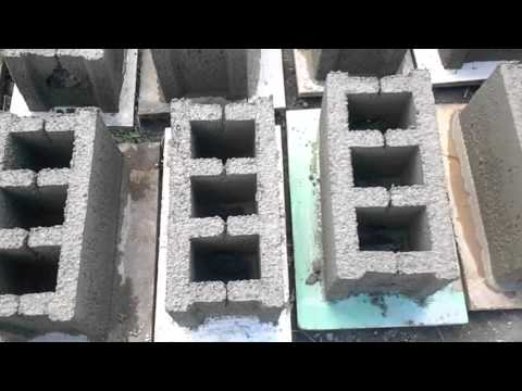 Смотреть Самодельный станок для шлакоблока своими руками (производство шлакоблоков в домашних условиях)
