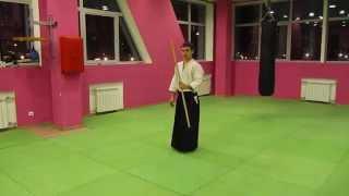 Айкидо видео ката с дзё