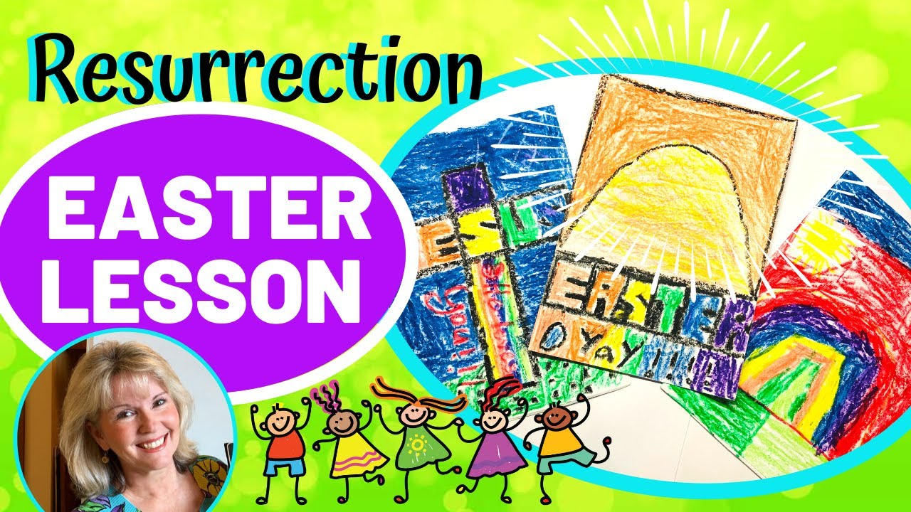 Resurrection Easter Lesson Craft For Kids Magic Box Letters