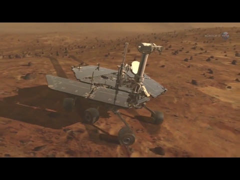 First Extraterrestrial Marathon - Mars Rover - Opportunity Rover - Curiosity Rover - Science at NASA