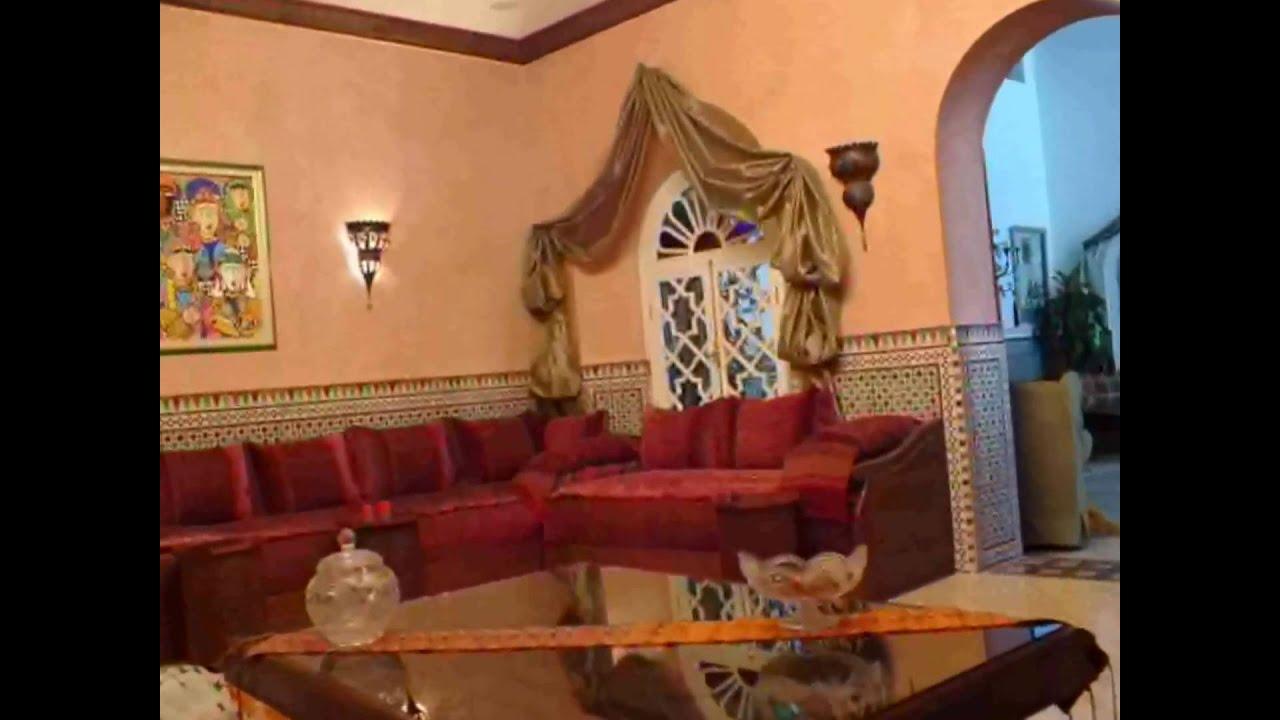 D cor marocain youtube - Decoration mural design ...