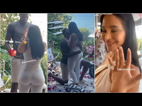 Paul George PROPOSES TO Girlfriend Daniela Rajic In Mexico