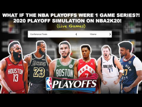 NBA Playoffs BUT EVERY Series IS GAME 7! SIMULATION on NBA2K20! Win Or Go Home!  