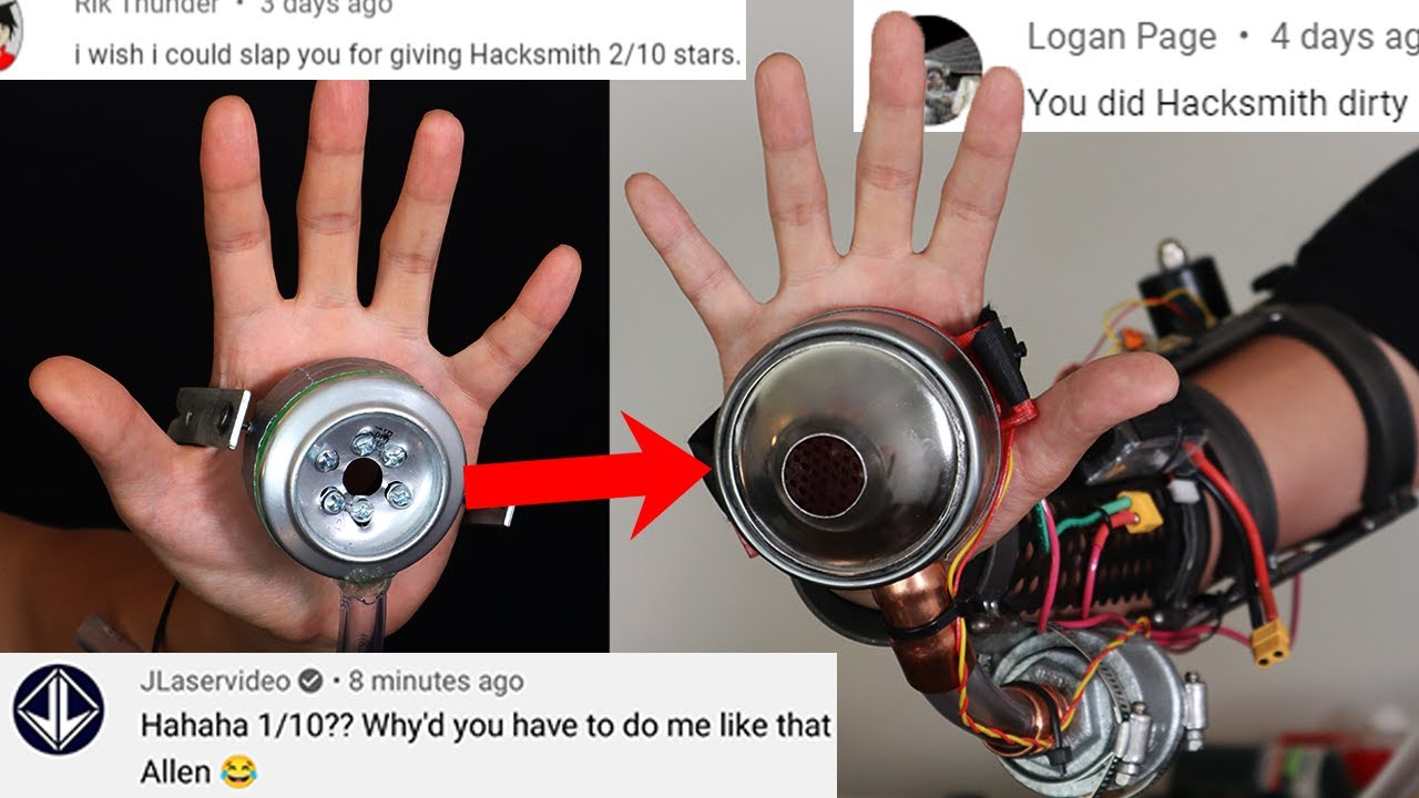making people Mad by fixing other YouTuber's Inventions