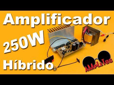 Amplificador Monofonico De 250 Watts