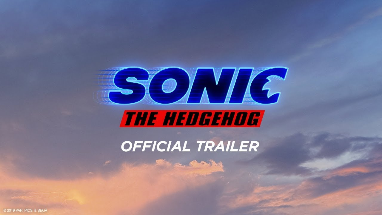 sonic the hedgehog movie logo font