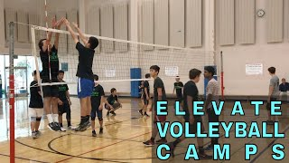 Elevate Yourself VOLLEYBALL CAMPS 2018 (Volleyball Training)