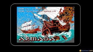 Armada gameplay (PC Game, 1989)