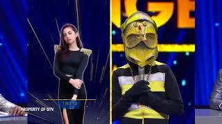 Bawain Lagu 'Kasmaran' Ulet Hip Hop Ketauan Deh! | The Mask Singer Eps. 13 (9/11) GTV 2018