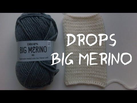 Мое мнение о пряже Drops Big Merino
