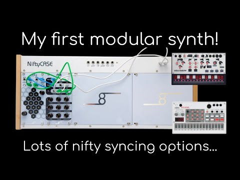 Download Nifty Bundle from Cre8audio - my first modular system!