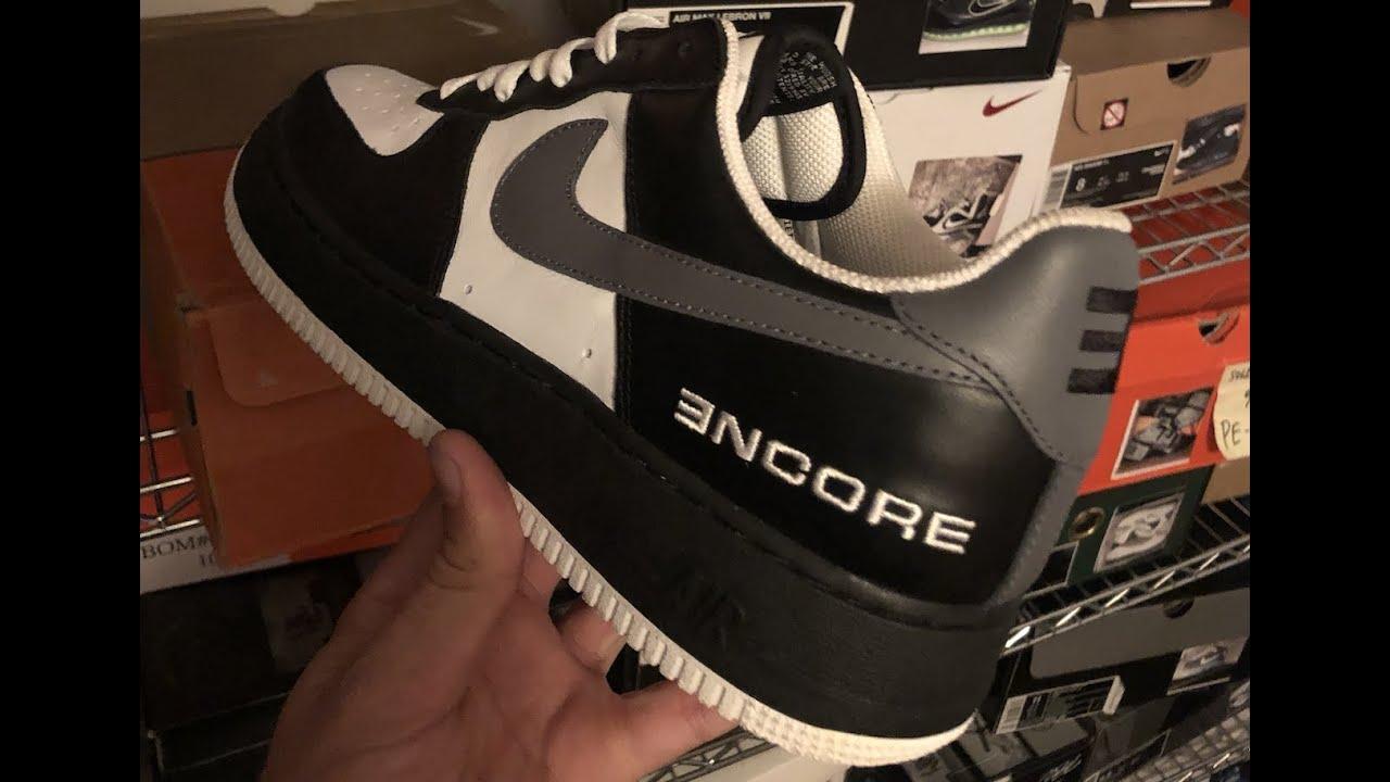 Nike Encore Eminem AF1 + Shady Records
