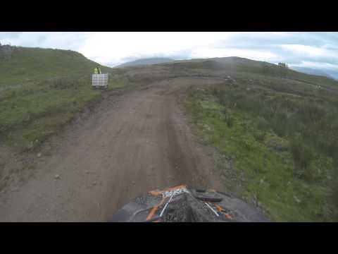 oban scotland  motocross connel mx