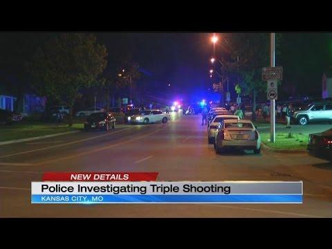 3 men found shot to death inside car in Kansas City
