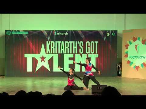 Best Classical Duet Dance   TPH   Kritarth's Got Talent   Kritarth 2017   KIIT University