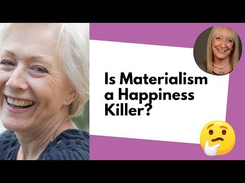 The Truth About Materialism and Happiness After 60