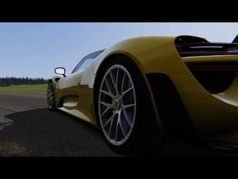 assetto corsa four sterring wheel system porsche 918 spyder youtube. Black Bedroom Furniture Sets. Home Design Ideas