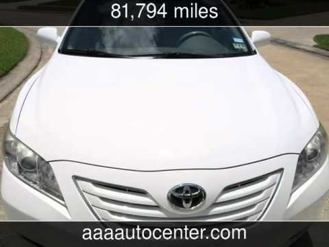 2009 Toyota Camry XLE 4Dr Gas Saver Leather Sunroof  Used Cars - Houston,TX - 2015-10-01