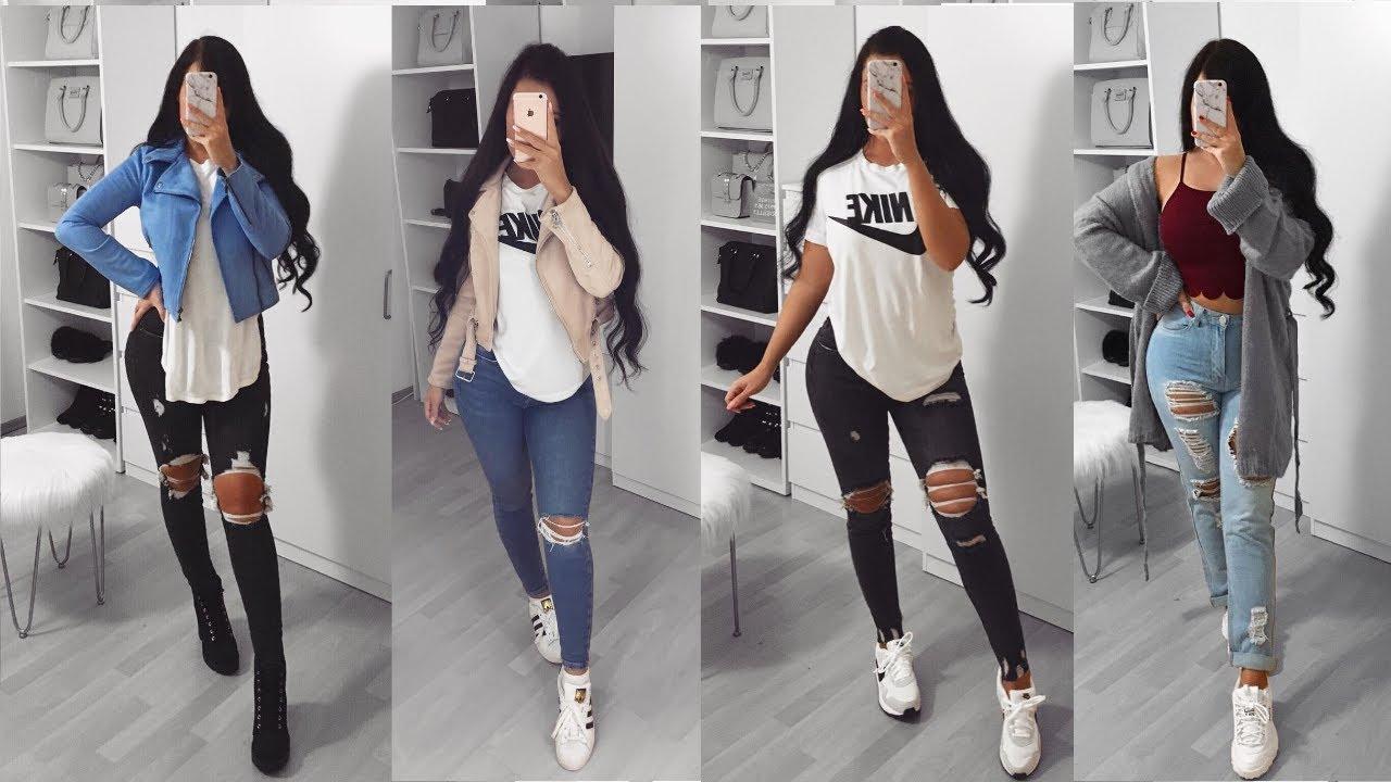 Ropa De Moda Juvenil Outfits De Moda Con Jeans 2020 Moda 2020 Youtube