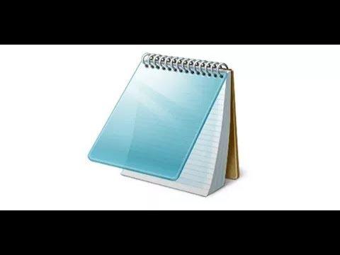 Как сделать файл реестра через блокнот