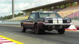 1965 Mustang 1/4 Mile Hockenheim