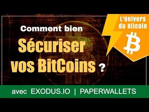 Comment bien sécuriser vos BitCoins ?