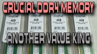 Crucial DDR4 Review (4 x 4 16GB Kit) - Benchmarks Vs DDR3 Memory
