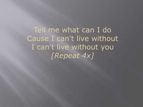 What Can I Do by tye tribbett (lyrics)