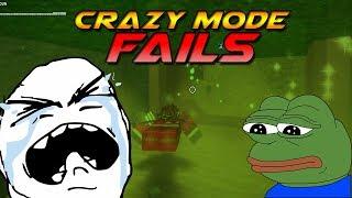 Roblox Flood Escape 2   Crazy Mode [FAILS] #1