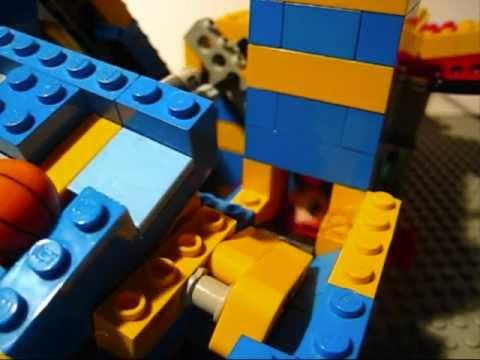 Lego Gbc V1 Loop And Mini Marble Run Youtube