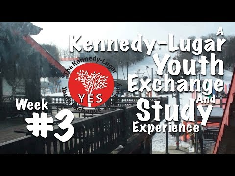 """First time skiing!"" - Malaysian KL-YES Student Exchange Experience, Vlog #3"