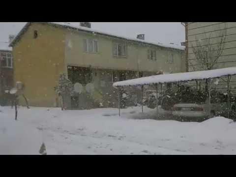 Sakarya Kar Yağışı - Şubat 2015