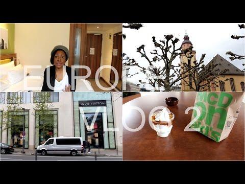 Europe Vlog  2: Frankfurt, Germany - H&M Haul, The Galleria (Hauptwache), Designer Stores