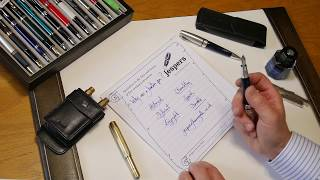 Why use a fountain pen? Top six reasons