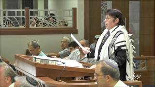 Dr  Mordechai Sobol sings V'ehu Rachum   Y  Rosenblatt