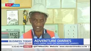 Adventure diaries: Exploring ships in Mombasa