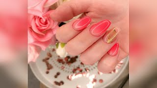 Маникюр на 8 Марта Великолепные идеи маникюра Дизайн ногтей Manicure on March 8 Nail design