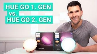 Philips Hue Go 2. Gen vs. Hue Go 1. Gen - Das sind die Unterschiede und so schlägt sie sich im Test
