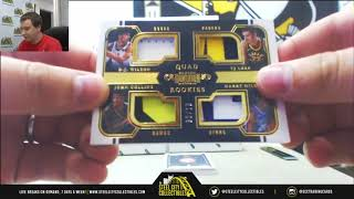 2017-2018 Panini Dominion BKB 6-box Case Random Serial # Group Break #1
