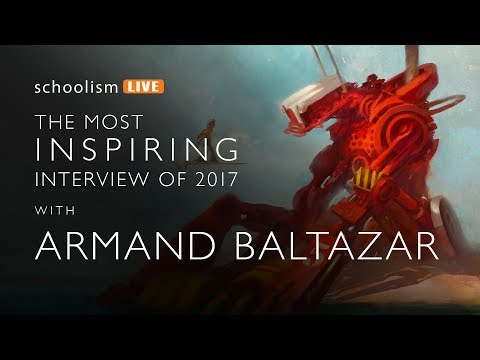 The most inspiring Schoolism interview of 2017 with Armand Baltazar
