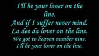 N-Euro - lover on the line - just lyrics