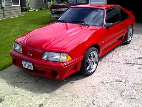 1988 Mustang Gt 5 0 Fox Body Kaden Vos S 5 0 Youtube