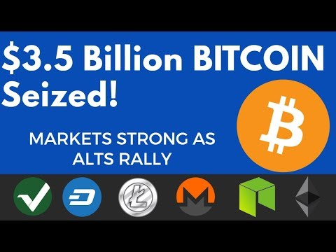 Crypto News | Alt Coins Shine! $3.5 Billion of Bitcoin Confiscated, Starbucks Mining Crypto